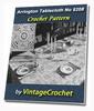 Thumbnail Arrington Tablecloth Vintage Crochet pattern eBook (PDF)