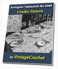 Thumbnail Arrington Tablecloth Vintage Crochet pattern eBook (epub)