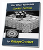 Thumbnail Star Wheel Tablecloth Vintage Crochet pattern eBook (PDF)