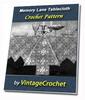 Thumbnail Memory LaneTablecloth Vintage Crochet pattern eBook (PDF)