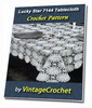 Thumbnail Lucky Star Tablecloth Vintage Crochet pattern eBook (PDF)