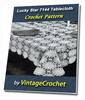 Thumbnail Lucky Star Tablecloth Vintage Crochet pattern eBook (PDF)