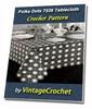 Thumbnail Polka Dots Tablecloth Vintage Crochet pattern eBook (PDF)