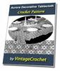 Thumbnail Aurora Tablecloth Vintage Crochet pattern eBook (PDF)