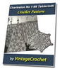 Thumbnail Charleston Tablecloth Vintage Crochet pattern eBook (PDF)