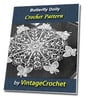 Thumbnail Butterfly Doily Vintage Crochet Pattern Ebook