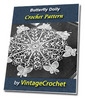 Thumbnail Butterfly Doily Vintage Crochet Pattern Ebook