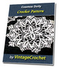 Thumbnail Cosmos Doily Vintage Crochet Pattern