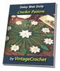 Thumbnail Daisy Web Doily Vintage Crochet Pattern