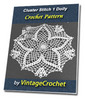 Thumbnail Cluster Stich 1 Doily Vintage Crochet Pattern Ebook