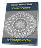 Thumbnail Cluster Stich 2 Doily Vintage Crochet Pattern Ebook