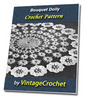 Thumbnail Bouquet Doily Vintage Crochet Pattern Ebook