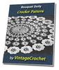 Thumbnail Bouquet Doily Vintage Crochet Pattern Ebook