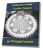 Thumbnail Doilies Are In Again Doily Vintage Crochet Pattern Ebook