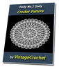 Thumbnail Doily No.2 Vintage Crochet Pattern Ebook