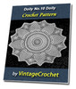 Thumbnail Doily No.10 Vintage Crochet Pattern Ebook
