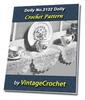 Thumbnail Doily No.2132 Vintage Crochet Pattern Ebook