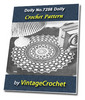 Thumbnail Doily No.7256 Vintage Crochet Pattern Ebook