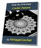 Thumbnail Doily No.7276 Vintage Crochet Pattern Ebook