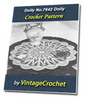 Thumbnail Doily No.7642 Vintage Crochet Pattern Ebook