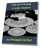 Thumbnail Doily Mat Set No.7715 Vintage Crochet Pattern Ebook