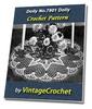 Thumbnail Doily No.7801 Vintage Crochet Pattern Ebook