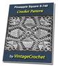 Thumbnail Pineapple Square S-740 Vintage Crochet Pattern eBook