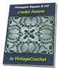 Thumbnail Pineapple Square S-747 Vintage Crochet Pattern eBook