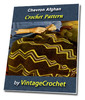 Thumbnail Chevron Afghan Vintage Crochet pattern eBook