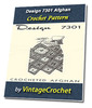 Thumbnail Design 7301 Afghan Vintage Crochet pattern eBook