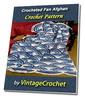 Thumbnail Crocheted Fan Afghan Vintage Crochet Pattern