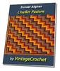 Thumbnail Sunset Afghan Vintage Crochet Pattern eBook