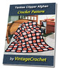 Thumbnail Yankee Clipper Afghan Vintage Crochet Pattern eBook