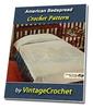 Thumbnail Americana Bedspread Vintage Crochet Pattern