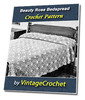 Thumbnail Beauty Rose Bedspread Vintage Crochet Pattern