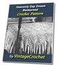 Thumbnail Heavenly Daydream Bedspread Vintage Crochet Pattern