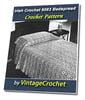 Thumbnail Irish Crochet Bedspread No. 6063 Vintage Crochet Pattern