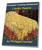 Thumbnail Pineapple Frosting Bedspread Vintage Crochet Pattern