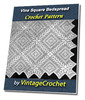 Thumbnail Vine Square Bedspread Vintage Crochet Pattern