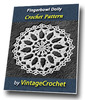Thumbnail Fingerbowl Doily Vintage Crochet Pattern