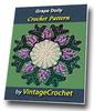 Thumbnail Grape Doily Vintage Crochet Pattern