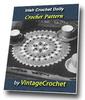 Thumbnail Irish Crochet Doily Vintage Crochet Pattern