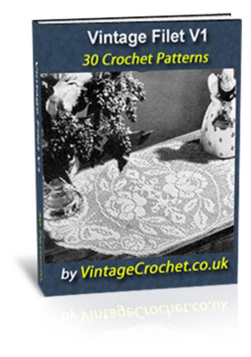 Pay for Vintage Filet Crochet Patterns Ebook