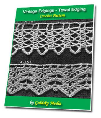 Pay for Vintage Edgings Towel Design Crochet PatternEbook