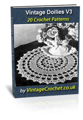 Pay for Vintage Doily Crochet Patterns eBook Volume 3