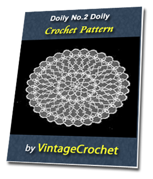 Pay for Doily No.2 Vintage Crochet Pattern Ebook