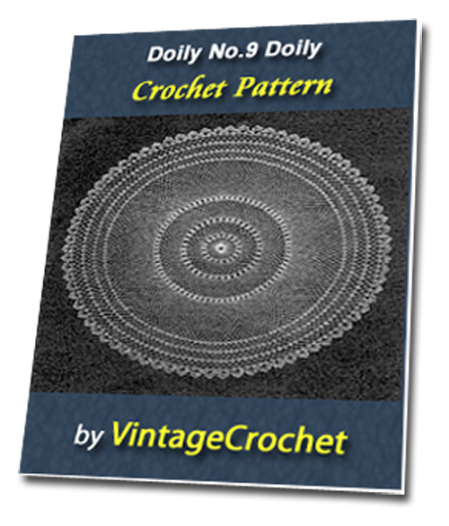 Pay for Doily No.9 Vintage Crochet Pattern Ebook