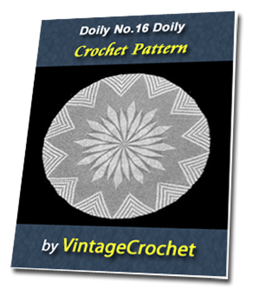 Pay for Doily No.16 Vintage Crochet Pattern Ebook