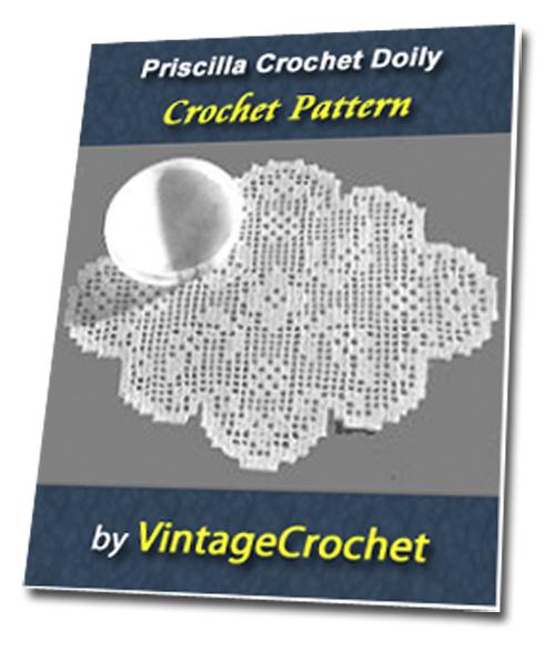Pay for Filet Doily S-773 Vintage Crochet Pattern eBook