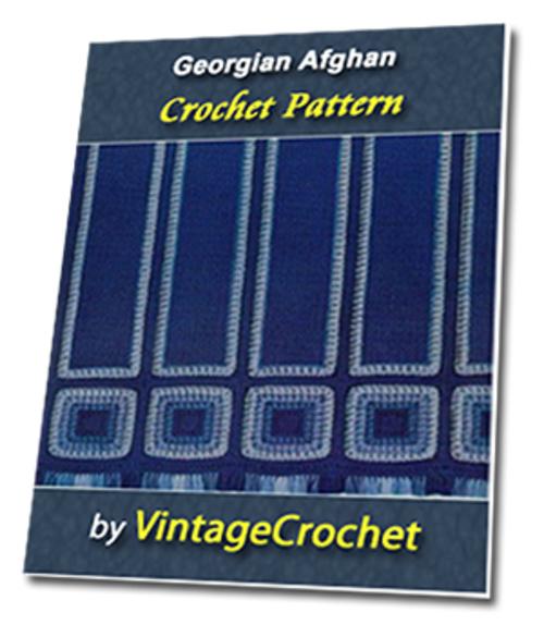 Pay for Georgian Afghan Vintage Crochet Pattern eBook